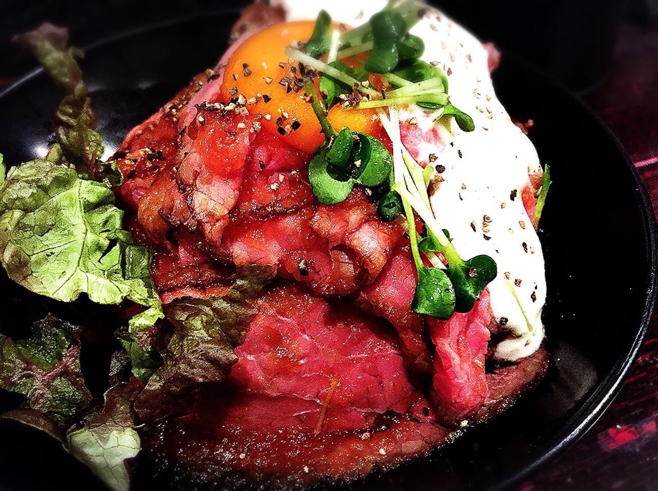 【激ウマ】レッドロックの激安ローストビーフ丼を食べてきた!
