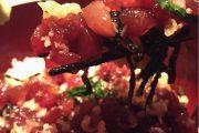 神コスパ!渋谷でいくらたっぷり海鮮ちらし丼をワンコインで♪