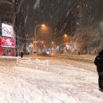 東京に大雪が降った日